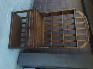 Beautiful solid wood baker's rack for Sale in San Dimas, CA