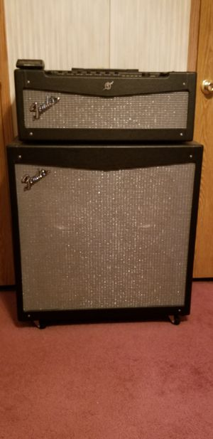Fender Mustang half stack. for Sale in Menomonie, WI
