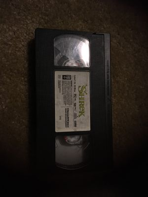 Shrek vhs for Sale in Sacramento, CA