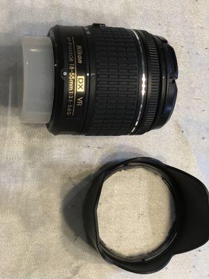 Nikon lenses 18 55mm and 70 300mm for Sale in Hamilton Township, NJ