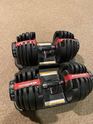 Bow flex adjustable weights for Sale in Middletown, NJ