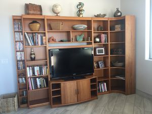 Copenhagen modular entertainment center for Sale in Queen Creek, AZ
