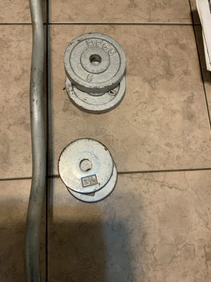 BFCO curl bar set for Sale in Fontana, CA