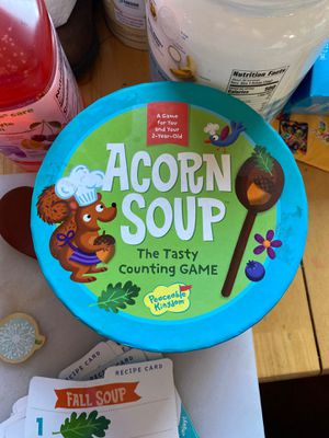 Acorn Soup Kids Counting Game Toddler Game for Sale in Santa Ana, CA