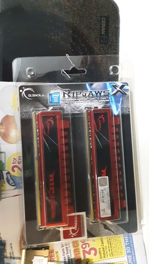 Gskill ripjaws 2x 4gbx2 DDR3 for Sale in Erie, PA