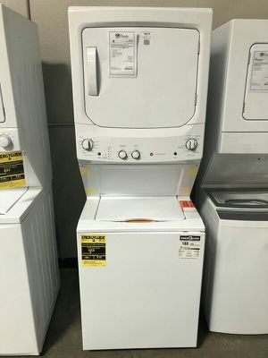 "New 27"" Stack Washer gas Dryer 1yr Manufacturers Warranty for Sale in Chandler, AZ"