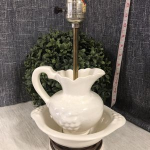 Pitcher With Bowl Lamp - Antique for Sale in Rockledge, FL