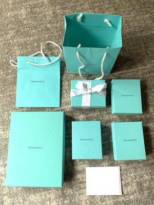 Tiffany & Co jewelry boxes and bags for Sale in Castro Valley, CA