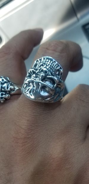 Silver Skull Ring Men's sz 13 for Sale in Riverside, CA