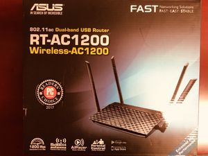ASUS RT-AC1200 5G 1200M Router for Sale in Whittier, CA