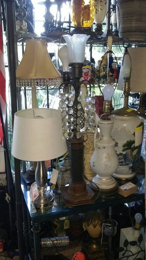 LOTS OF Antique lamps for Sale in Biscayne Park, FL