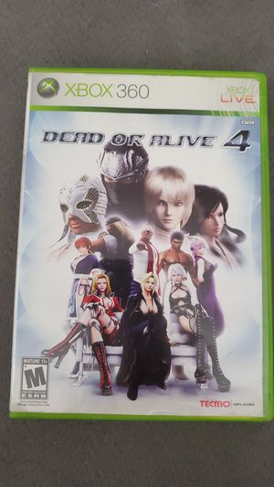 Dead or Alive 4 (Xbox 360) for Sale in Durham, NC