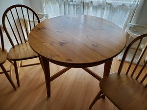 Kitchen Table and 4 Chairs for Sale in Vienna, VA