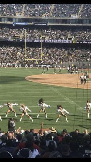 Raiders game tickets for Sale in San Fernando, CA