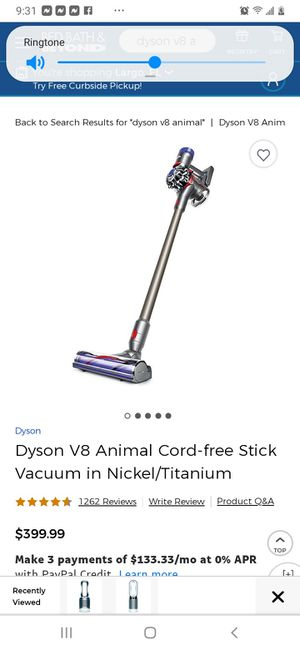 Brand New Dyson V8 Animal for Sale in INDIAN RK BCH, FL