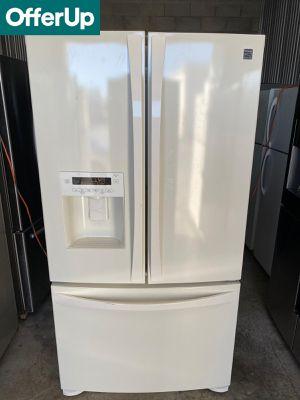 Kenmore French Door 3-Door Refrigerator Fridge White #1262 for Sale in Orlando, FL