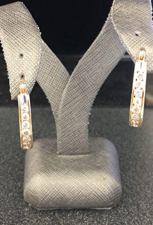 Jacket Diamond earrings for Sale in Seffner, FL