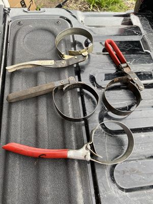 4 oil filter wrenches for Sale in Columbus, OH