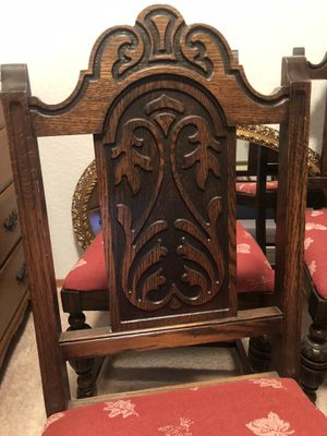 Antique chairs worth $200 each chair. This is a great deal! for Sale in East Wenatchee, WA
