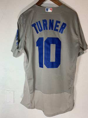 Justin Turner Los Angeles Dodgers Baseball Stitched Jersey 10 for Sale in West Covina, CA