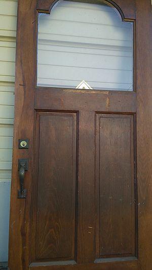 Vintage mahogany exterior door for Sale in Dearborn, MI