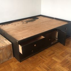 Bed Frame With Storage Drawers for Sale in Brooklyn,  NY