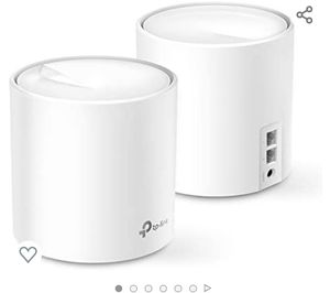 TP-Link Deco X60 X3000 Wifi 6 Mesh Router (ONE NOT 3 PACK)!!! for Sale in Sugar Land, TX