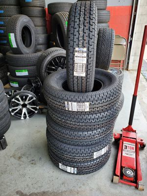 Trailer tires ST 225-75r15 for Sale in Indianapolis, IN