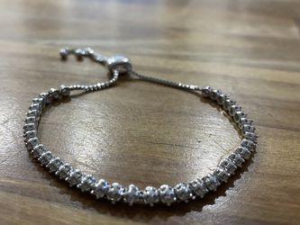 1 Carat Natural Diamond Adjustable Bolo Slide Tennis Bracelet for Sale in Staten Island,  NY