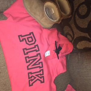 PINK hoodie And Ugg's for Sale in Kansas City, MO