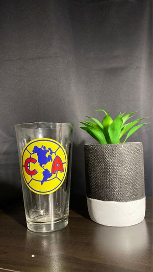 Custom America Soccer Team Glass Cup for Sale in Fontana, CA