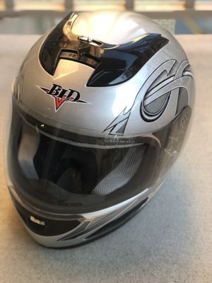 Like new, custom full faces motorcycle helmet for Sale in Vienna, VA
