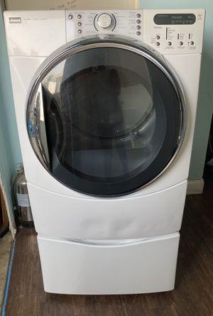 Kenmore Gas Dryer With Pedestal for Sale in Santa Clarita, CA