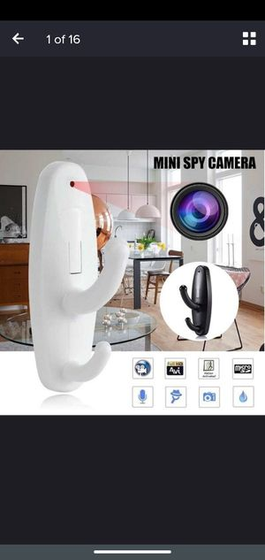 Spy cam clothes hook for Sale in Hartford, CT