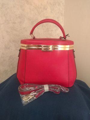 La Terre Fashion red purse - Vegan for Sale in Newton, KS