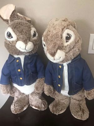 New! Peter Rabbit Decorative Dolls $25 each for Sale in Clermont, FL