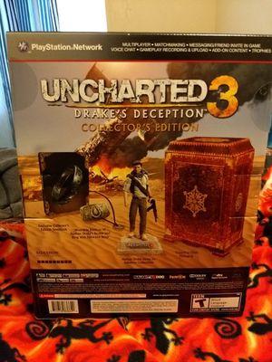 Uncharted 3: Drake's Deception Collector's Edition for Sale in El Cajon, CA