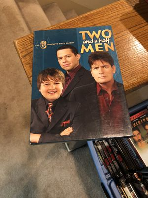 Two And A Half Men The Complete Sixth Season DVD 6 six box set S6 Charlie Sheen for Sale in Buena Park, CA