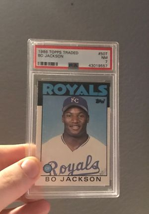 Bo Jackson Rookie RC 1986 Topps Traded #50T Royals Baseball Cards for Sale in Las Vegas, NV