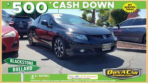 2013 Honda Civic Cpe for Sale in Fresno , CA