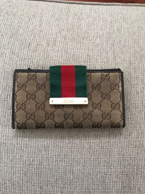 Authentic Gucci Signature Wallet for Sale in Winter Park, FL