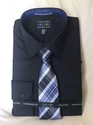 Black Dress Shirt Mens Large for Sale in Savannah, MO