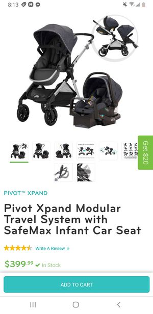 Evenflo Pivot Xpand Travel System for Sale in Long Beach, CA