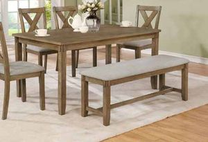 Dining table set. New in boxes. Price is firm 19Y2F for Sale in Pomona, CA