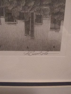 "Jim Buckels ""Central Park South"" Lithograph 122/375 for Sale in Champaign, IL"