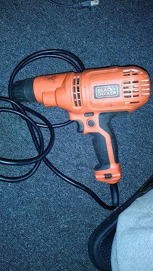 Black+decker 5.2a cord drill for Sale in Shreveport, LA