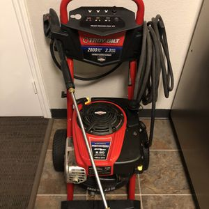 Troy-Bilt 2800-PSI 2.3-GPM Cold Water Gas Pressure Washer with Briggs & Stratton Engine CARB for Sale in Atlanta, GA