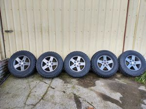 Oem Rubicon wheels, tires, sensors for Sale in Yelm, WA