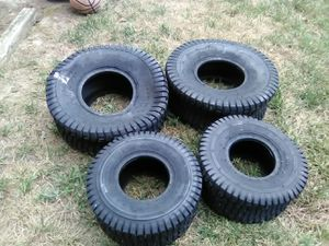 Brand new riding mower tires for Sale in Durham, NC