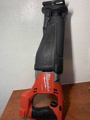 Milwaukee reciprocating saw 18 V fuel ( tool only) new NO LESS THANKS for Sale in Downey, CA